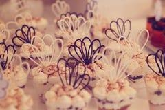 Ślubni cukierki Zdjęcie Royalty Free