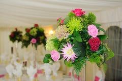 Ślubni kwiaty Fotografia Royalty Free
