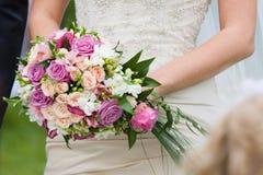 Ślubni kwiaty Zdjęcie Stock