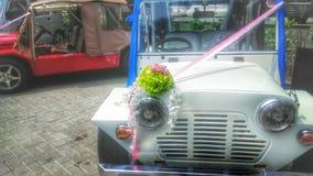 Ślubni samochody Zdjęcia Stock