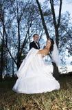 ślubni tanów drewna Obraz Royalty Free