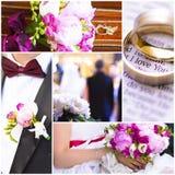 Ślubni tematów wizerunki Zdjęcia Stock
