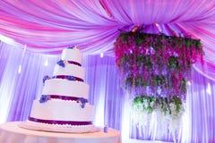 Ślubni torty Obraz Royalty Free