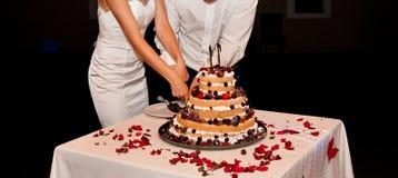 Ślubni torty Fotografia Royalty Free