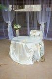 Ślubni wystrojów trendy Fotografia Royalty Free