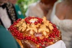 Ślubny bochenek Zdjęcia Royalty Free