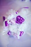 Ślubny boutonniere Fotografia Royalty Free