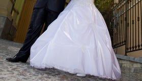 Ślubny bruk Zdjęcia Royalty Free