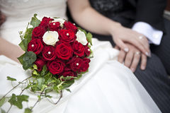Ślubny bukiet Zdjęcia Royalty Free