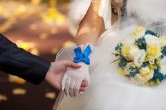 Ślubny bukiet Fotografia Royalty Free