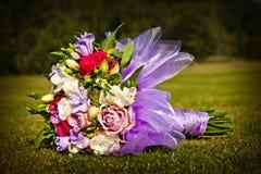 Ślubny bukiet Zdjęcie Royalty Free