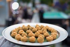 Ślubny cateringu jedzenie Fotografia Stock