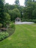 Ślubny gazebo Zdjęcia Royalty Free