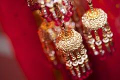 Ślubny Jewellery Obraz Royalty Free