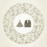Ślubny kostium Fotografia Stock