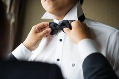 Ślubny krawat Obrazy Royalty Free