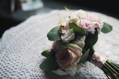 Ślubny kwiatu bukiet Obraz Stock