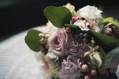 Ślubny kwiatu bukiet Zdjęcie Royalty Free