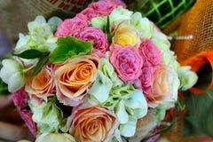 Ślubny kwiatu bukiet Obrazy Stock