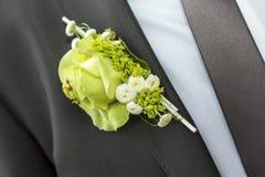 Ślubny lapel Zdjęcia Stock