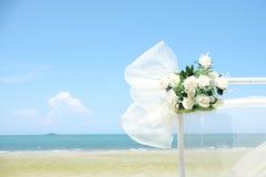 Ślubny morze Zdjęcia Stock