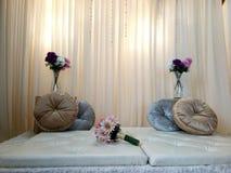 Ślubny obrazek znowu i znowu Obraz Royalty Free