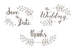 Ślubny plakat Zdjęcie Royalty Free