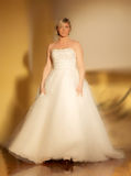 Ślubny pokaz mody Zdjęcia Stock