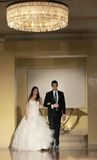 Ślubny pokaz mody Zdjęcie Royalty Free