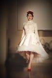Ślubny pokaz mody Fotografia Royalty Free