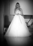 Ślubny pokaz mody Zdjęcia Royalty Free