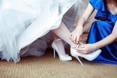 Ślubny przygotowanie Zdjęcie Royalty Free