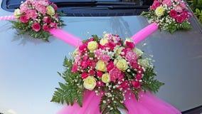 Ślubny samochód Zdjęcie Stock