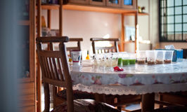 Ślubny tortury jedzenie 4 Zdjęcie Stock