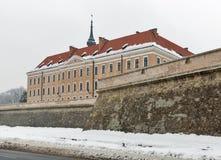 Lubomirski城堡在Rzeszow,波兰 图库摄影