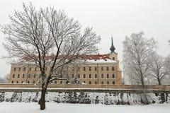 Lubomirski城堡在Rzeszow,波兰 免版税库存图片