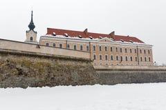 Lubomirski城堡在Rzeszow,波兰 库存照片