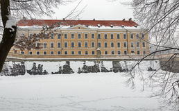 Lubomirski castle in Rzeszow, Poland Royalty Free Stock Photography