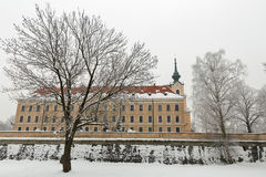 Lubomirski castle in Rzeszow, Poland Royalty Free Stock Images