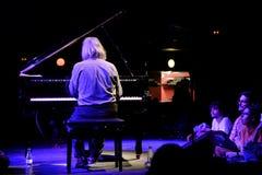 Lubomyr Melnyk钢琴演奏家执行在Primavera俱乐部2015年节日 免版税库存图片