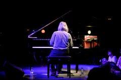 Lubomyr Melnyk钢琴演奏家执行在Primavera俱乐部2015年节日 图库摄影