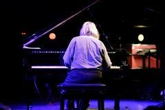 Lubomyr Melnyk钢琴演奏家执行在Primavera俱乐部2015年节日 库存照片