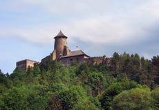 Lubovna,斯洛伐克城堡  免版税库存图片