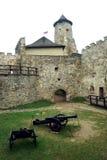 Lubovna castle. royalty free stock photo