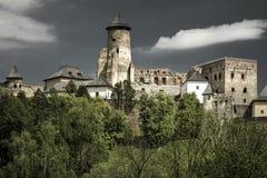 The Lubovna castle, Slovakia Stock Image