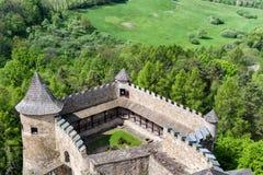 The Lubovna castle, Slovakia Stock Photos