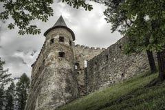 The Lubovna castle, Slovakia Royalty Free Stock Photo