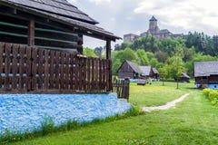 The Lubovna castle, Slovakia Stock Photo