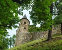 Lubovna Castle (Slovensko). Royalty Free Stock Image