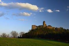 Lubovniansky hrad, Spis region, Slovakia stock image